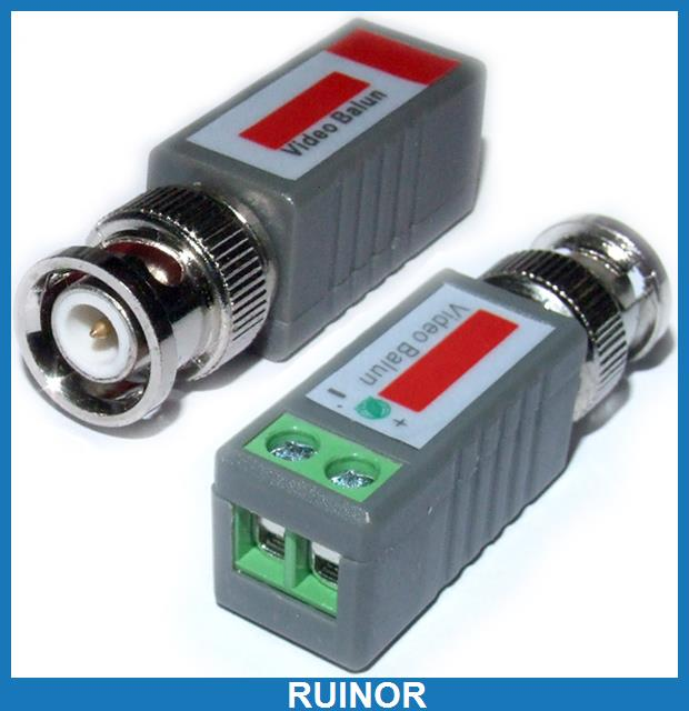 10 Pcs CCTV BNC Video Balun UTP Transceive Terminal<br><br>Aliexpress