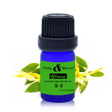 Pure Ylang essential oils Clean air Clean wound Helpful to colds aromatherapy Skin Care Massage oil(China)