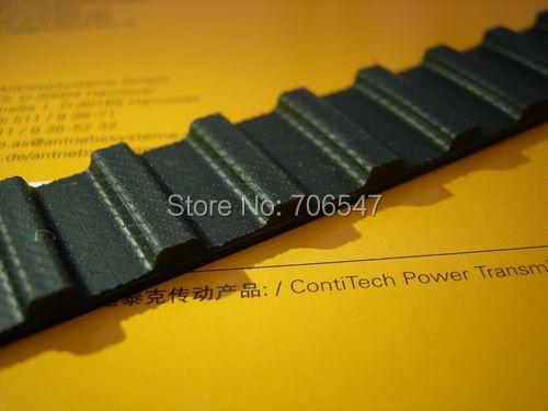 Free Shipping 760H100  teeth 152 Width  25.4mmmm=1  length  1930.40mm Pitch 12.7mm 760 H 100 T Industrial timing belt 2pcs/lot<br>