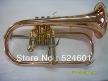 Manufacturers wholesale Very beautiful phosphor copper flugelhorn professional BB Monel valves
