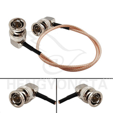 New Lanparte HD SDI Video Cable BNC male Right to BNC Plug Right Angle Pigtail Coaxial Cable RG179 BMCC VIDEO Blackmagic Camera