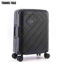 TRAVEL TALE 20,24,28 inch spinner business rolling baggage luggage trolley hardside carry on suitcase koffer(China)