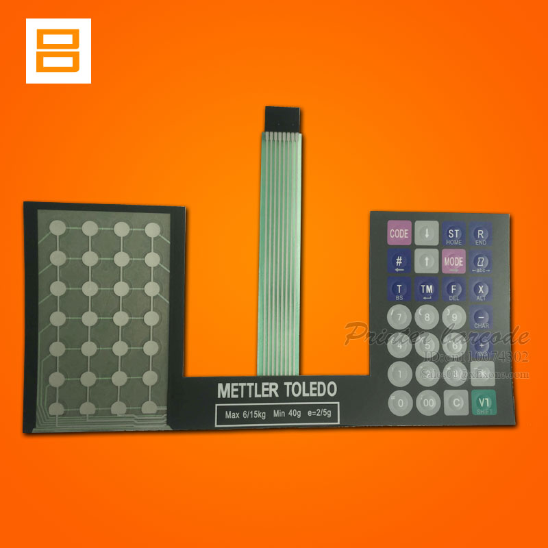 (English Version) Keyboard Film (Key strengthen edition) Apply to For mettler Toledo 3600 3650 3680 Scale retail scale<br><br>Aliexpress