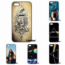 For iPhone 4 4S 5 5C SE 6 6S 7 Plus Galaxy J5 J3 A5 A3 2016 S5 S7 S6 Edge pink floyd dark side of the moon music Hard Phone Case