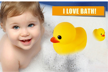new baby kids bath toy duck swimming ring baby children swim toy 1 buck free shiping