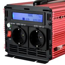 lcd inverter 1500W/3000W pure sine wave power inverter DC12V to AC 220V 230V 240V