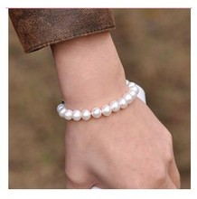 Fashion Jewelry all-match classic Imitation Pearl bracelet for women accessories(China)