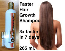 Genive Long Hair Fast Growth shampoo helps your hair to lengthen grow longer Free Shipping(China)