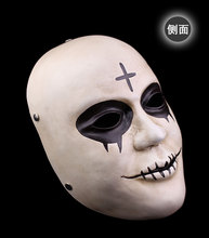 Halloween Collection Human Clear program arrangement atmosphere furnishings resin mask the theme of the movie will graduate(China)