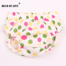 Baby Girl Fashion Ruffle Diaper Cover Baby Bloomers Toddler Cotton Dots Shorts Boy Clothes 3 colors YC036(China)