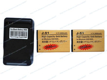 2pcs New JS1 J-S1 Battery+Wall Charger For Blackberry Curve 9210 9220 9230 9310 9320 9720 Phone