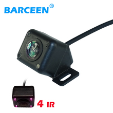 HD car reverse camera 4 IR night vision waterproof for car parking video monitor back up /front rear view back system(China)