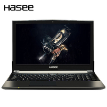 "HASEE God of War Z6-KP5GT Portatil Laptop 15.6"" 1080P HD for Intel i5-7300HQ Processors GTX1050 2G GDDR5 8GB DDR4 1TB+128GB(China)"