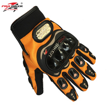 HOT Sale Summer Motorcycle Motorbike Gloves Retro Pro Biker Moto Racing Gloves Men's Motocross Full Finger Gloves M/L/XL/XXL