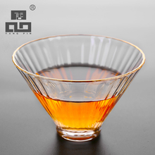 TANGPIN handmade japanese heat-resistant glass tea cup glass cup of tea accessories(China)