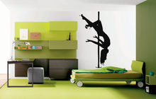 Wall Art Vinyl Sticker Room Decal Mural Decor Strip Pool Dance Girl Sexy 22inx35in