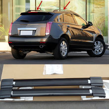 2PCS Black Roof Rack Car Roof Carrier luggage Holder For Cadillac SRX 2010 2011 2012 2013