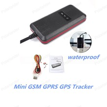 GT003 Vehicle And Motorcycle GPS GPRS Tracker With Viberation Alarm Cut Line Alarm Anti-theft Android IOS System
