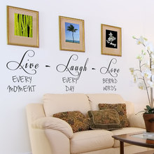 live laugh love Quote Wall Stickers Inspirational Vinyl Quote Decal