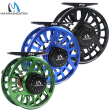 Maximumcatch Fly Fishing Reel 3/4/5/6/7/8WT Fly Reel Machined Aluminium Micro Adjusting Drag Fly Fishing Reel(China)