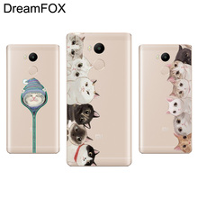 Buy DREAMFOX L019 Cat Soft TPU Silicone Case Cover Xiaomi Redmi Note 3 3S 4 4A 4X Pro Global for $1.16 in AliExpress store