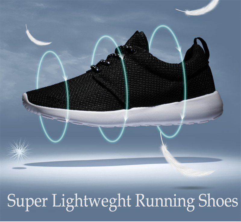 CASMAG Classic Men and Women Sneakers Outdoor Walking Lace up Breathable Mesh Super Light Jogging Sports Running Shoes 5