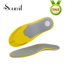 Soumit Comfortable Orthotics Orthopedic Flat Foot Insoles Arch Support for Men Woman Shoes Shock Absorption Sports Insoles Pads(China)