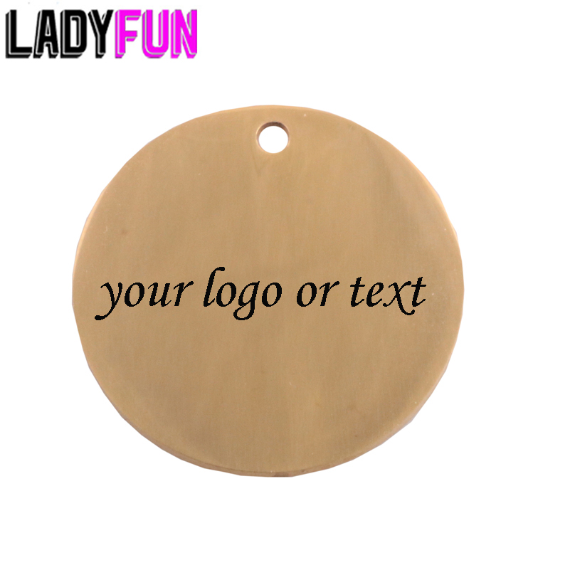 Custom Personalized Laser Engraved Stainless Steel Charm Free Engrave 50pcs/lot