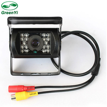 DC 12~24V Car Parking Camera,  IR Nightvision Waterproof Rear View Camera With 10M 15M 20M RCA Video Cable For Bus Truck