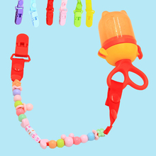 Buy CN-RUBR Baby Pacifier Clips Newborn Dummy Nipple Belt Children Soother Clip Safety Teether Holder Pacifiers Chain Anti-lost for $1.30 in AliExpress store