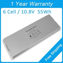 "Laptop battery white A1185 for apple MacBook 13"" MA255 MB404 MA700 MB403 MA701"