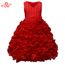 RBVH Flower Girl Wedding Dress Tutu Kids Party Dresses For Girl Clothes Children's Clothing Girl Prom Gown Wear 10 Year Vestidos