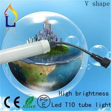 T10 led tube light 48W/40W/30W/24W smd2835 high brightness with waterproof connector 28lm/led 15pcs/lot