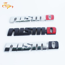 Brand 3D Metal Auto Car Nismo Badge Emblem Decal Nismo Sticker for Nissan Juke Tiida Teana GTR GTR 350Z 370Z 240SX ECT