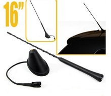 "16"" Antenna Aerial Radio Roof Mast Whip + Antenna Base For VW Jetta Golf GTI Passat Beetle Cabrio Corrado Car Styling"