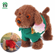 Walking Singing Dancing Dog Outdoor Funny Educational Electronic Pet Interactive Toy Baby Plush Dolls Toys For Children
