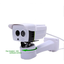 Wired 255 degree Pan Horizontal Rotation 720P IP Camera Outdoor waterproof IP66 Camera IP P2P smart Phone remote View IPCam(China)
