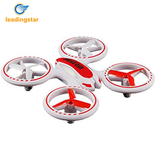 LeadingStar Mini Drone 398 Lighting RC Quadcopter 2.4G 4CH 6 Axis Fantastic LED Light Original New Design UFO Toys zk30(China)