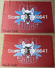 Fairbanks Ice Dogs Flag 3ft x 5ft Polyester U.S. Junior Hockey North American Hockey League UAHL Banner Size 4 144* 96cm
