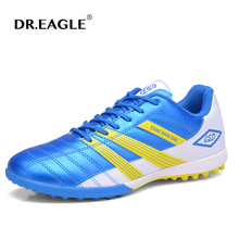 Turf football shoes kids indoor cleats Soccer shoes sneakers for football hall boot children sports Football boots free shipping