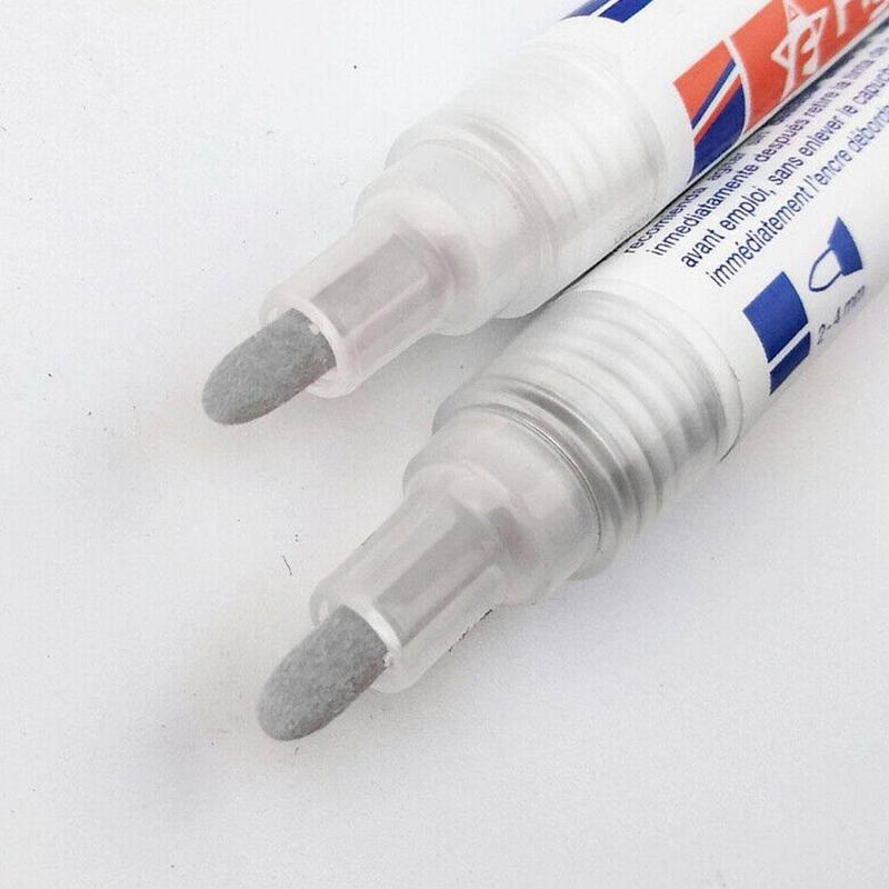 color blanco Rotulador de reparaci/ón con punta de repuesto para lechada Geneic