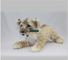 Dorimytrader High Quality 24'' / 60cm Lovely Stuffed Soft Plush Giant Emulational Animal Baby Lion Toy, Free Shipping DY60760