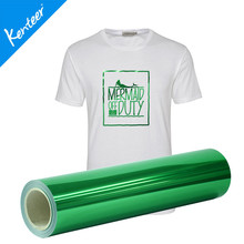 Q4 Kenteer metallic 50cm*25m one roll heat transfer vinyl for clothing