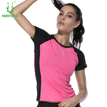 VANSYDICAL Summer Women Shirt Short Sleeve Fashion Casual Tops Female Shirts Breathable Quick Dry(China)