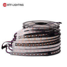 SK9822(Similar APA102) Smart led pixel strip 1m/5m,30/60/144 leds/pixels/m ,IP30/IP65/IP67 DATA and CLOCK seperately DC5V