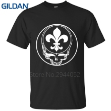 Topic for men t-shirt Steal Your Face New Orleans Grateful Saints Dead Lot Footballer trends High quality Tees cloth