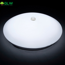 GLW 12W 18W PIR Motion Sensor LED Ceiling Lights Surface Mounted Lamparas De Techo for Hallway Stairs Depot Kid Room Passway