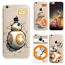 0032 Star Wars The Force Eveille Bb-8 Droid Robot cell phone bags case cover for iphone 4S 5S 5C SE 6S 7 PLUS Samsung NOTE IPOD