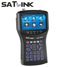 Satlink WS-6979 Digital Satellite Finder DVB-S2 DVB-T2 MPEG4 HD COMBO Spectrum Receiver Analyzer constellation WS6979 6979 Meter(China)