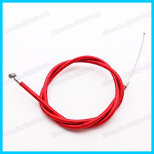 Red Gas Throttle Cable For 43cc 47c 49cc 2 stroke  Mini  Moto ATV Dirt Super Pocket Bike Dirt Bike Motocross